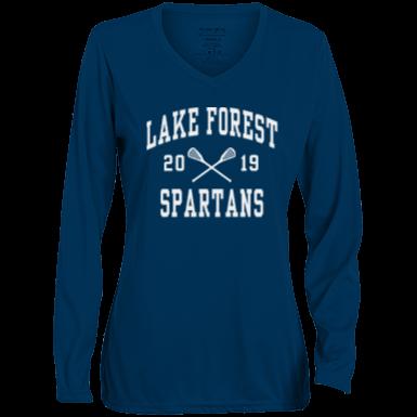 60101d64 Lake Forest High School Long Sleeve Custom Apparel and Merchandise ...
