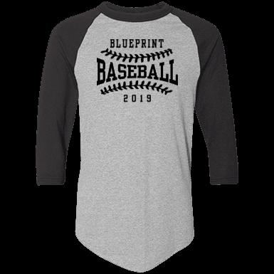 Blueprint high school custom apparel and merchandise spiritshop adult colorblock raglan jersey 2495 malvernweather Choice Image