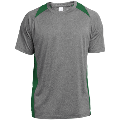 12. Heather Colorblock Performance T-shirt da31f391e