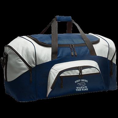 Delta Upsilon Metro Duffel Bag Royal Blue