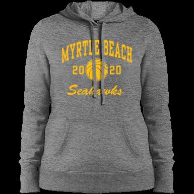 Myrtle Beach South Carolina Twill Patch  Adult Hoodie