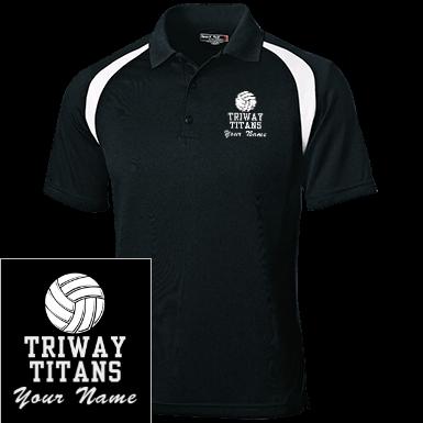 52a2a4e8 Triway High School Mens Polos Custom Apparel and Merchandise ...