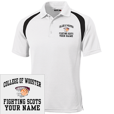 3b945be3 College Of Wooster Polo Shirts Custom Apparel and Merchandise ...