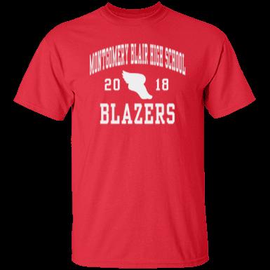 Montgomery blair high school mens performance colorblock for Custom t shirts montgomery al