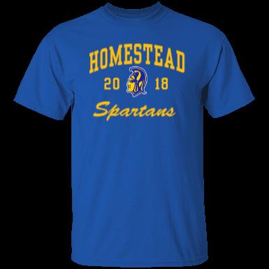 Homestead high school custom apparel and merchandise for Custom t shirts fort wayne