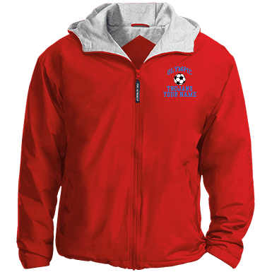 embroidered team jacket 6895