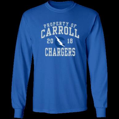 Carroll high school fort wayne chargers custom apparel and for Custom t shirts fort wayne