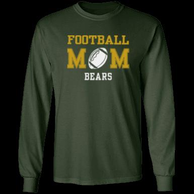 Basha high school bears adult ultra cotton t shirt for T shirt printing chandler az