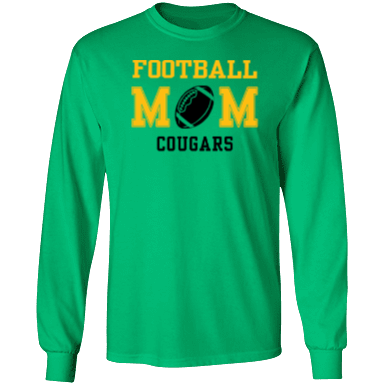 Crump elementary school cougars custom apparel and for Custom t shirts montgomery al