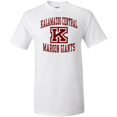 Kalamazoo central high school custom apparel and for T shirt printing kalamazoo