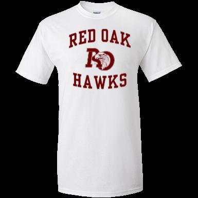 Red oak high school custom apparel and merchandise for Hawks t shirt jersey