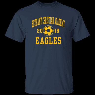 Bethany christian academy eagles custom apparel and for Custom t shirts montgomery al