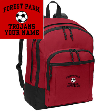 Forest Park School Accessories Backpacks Custom Apparel And