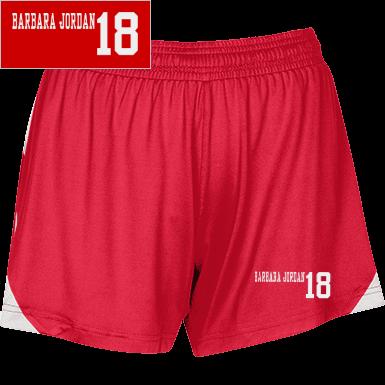 1c0698c0768e Barbara Jordan Elementary School Womens Shorts Custom Apparel and ...