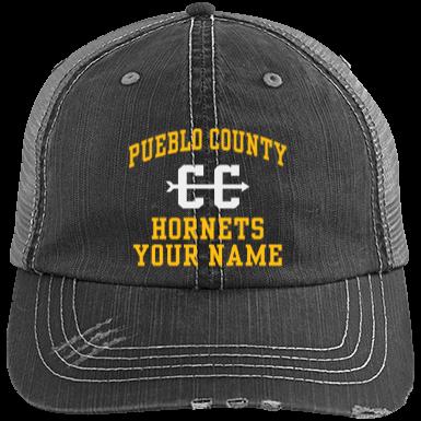 4e2111ccdf4a0 Pueblo County High School Hats Custom Apparel and Merchandise ...