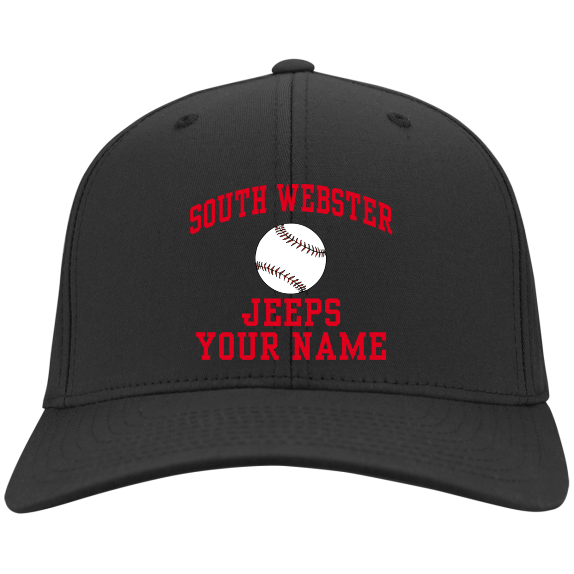 fbe9203d93ec3 South Webster High School Six-Panel Twill Cap - SpiritShop.com