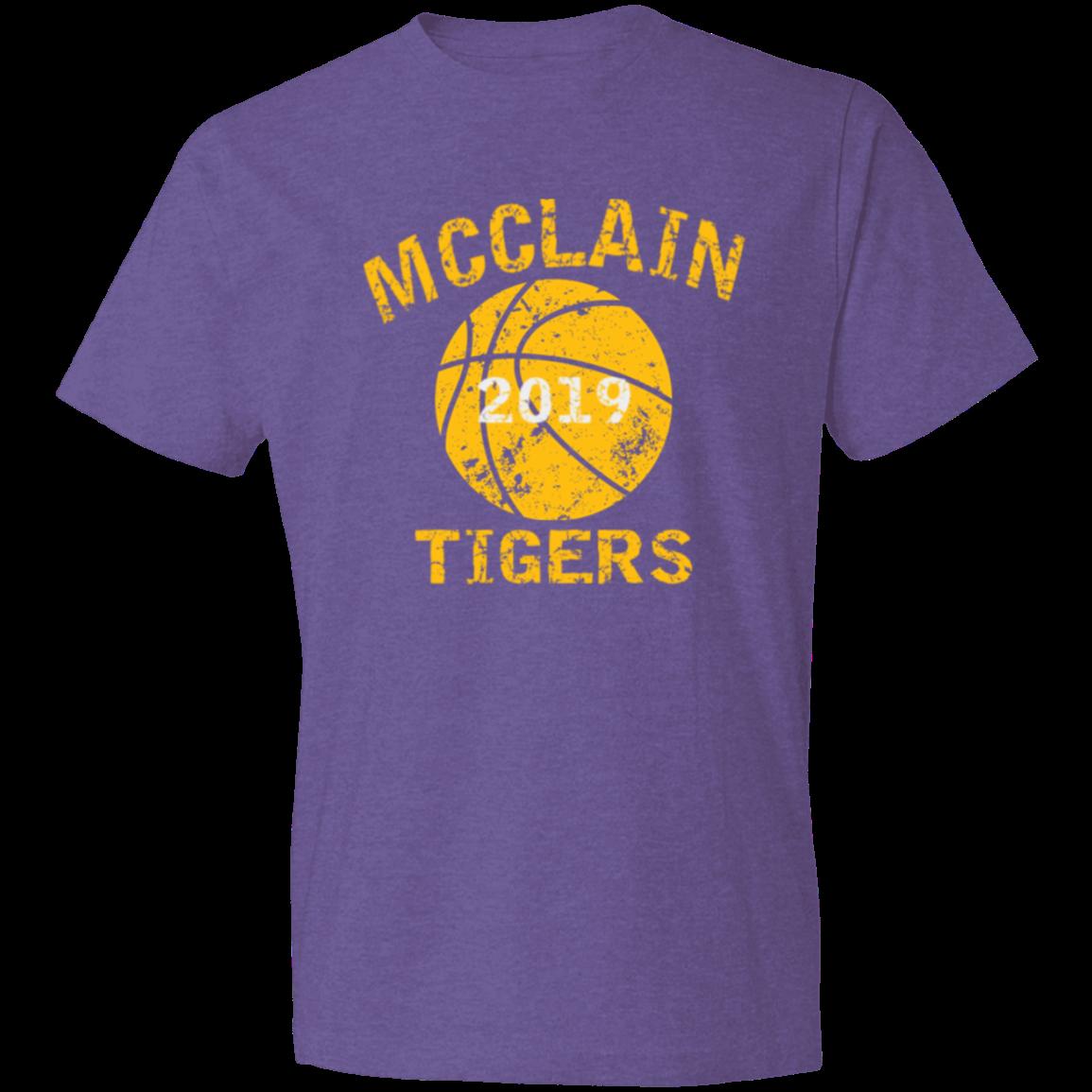 Mcclain High School Anvil Lightweight Tshirt 45 Oz Spiritshop