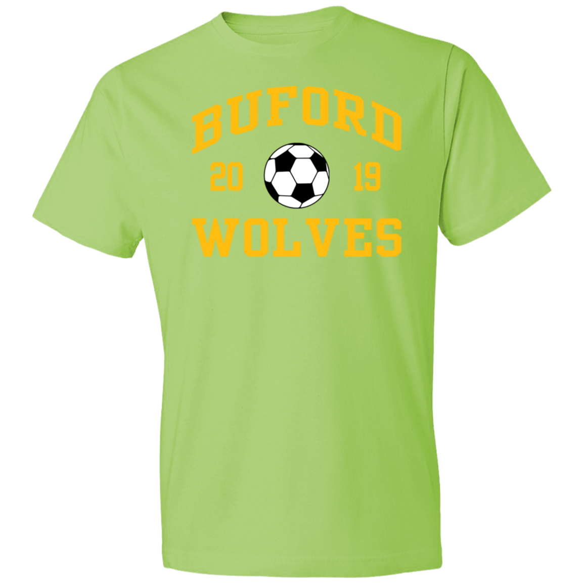 Buford High School Anvil Lightweight Tshirt 45 Oz Spiritshop