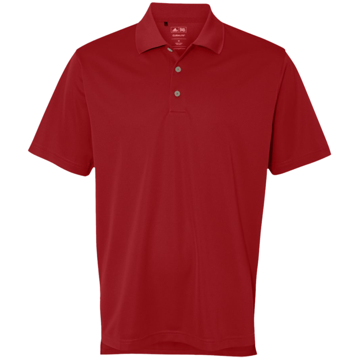 Custom Adidas Golf Climalite Basic Performance Pique Polo Mylocker