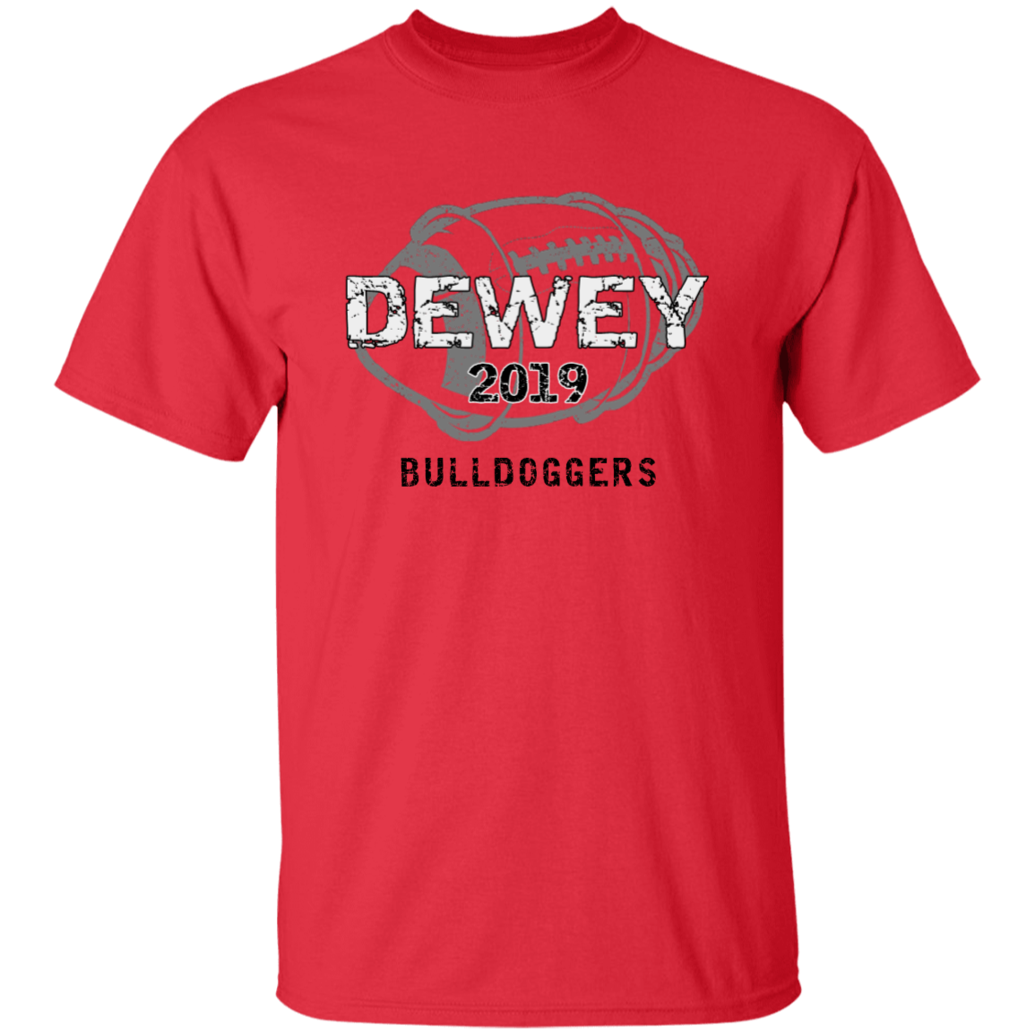 bc9eec46c426f Dewey High School Adult Ultra Cotton T-Shirt - SpiritShop.com