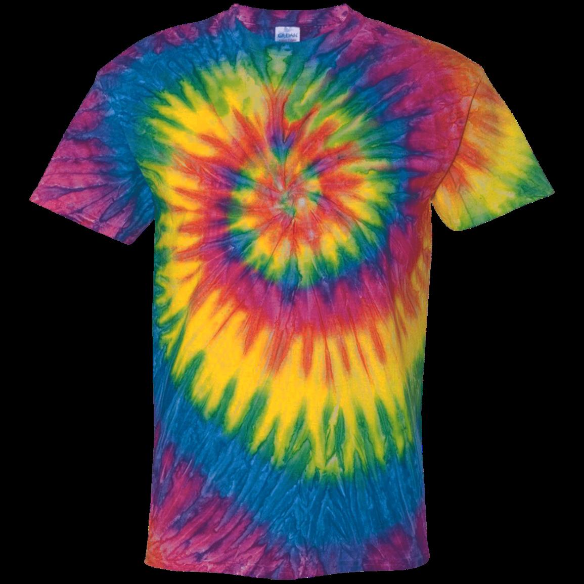 593aa52b Custom 100% Cotton Tie Dye T-Shirt - SpiritShop.com