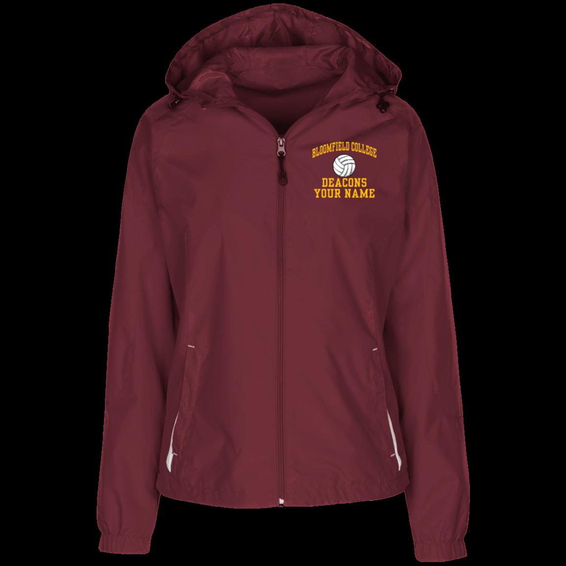 b1931d6d Women's Jersey-Lined Hooded Windbreaker
