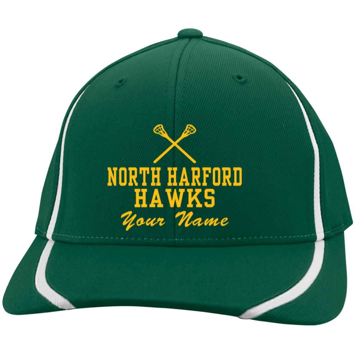North Harford High School Flexfit Colorblock Cap - Jostens School Stores