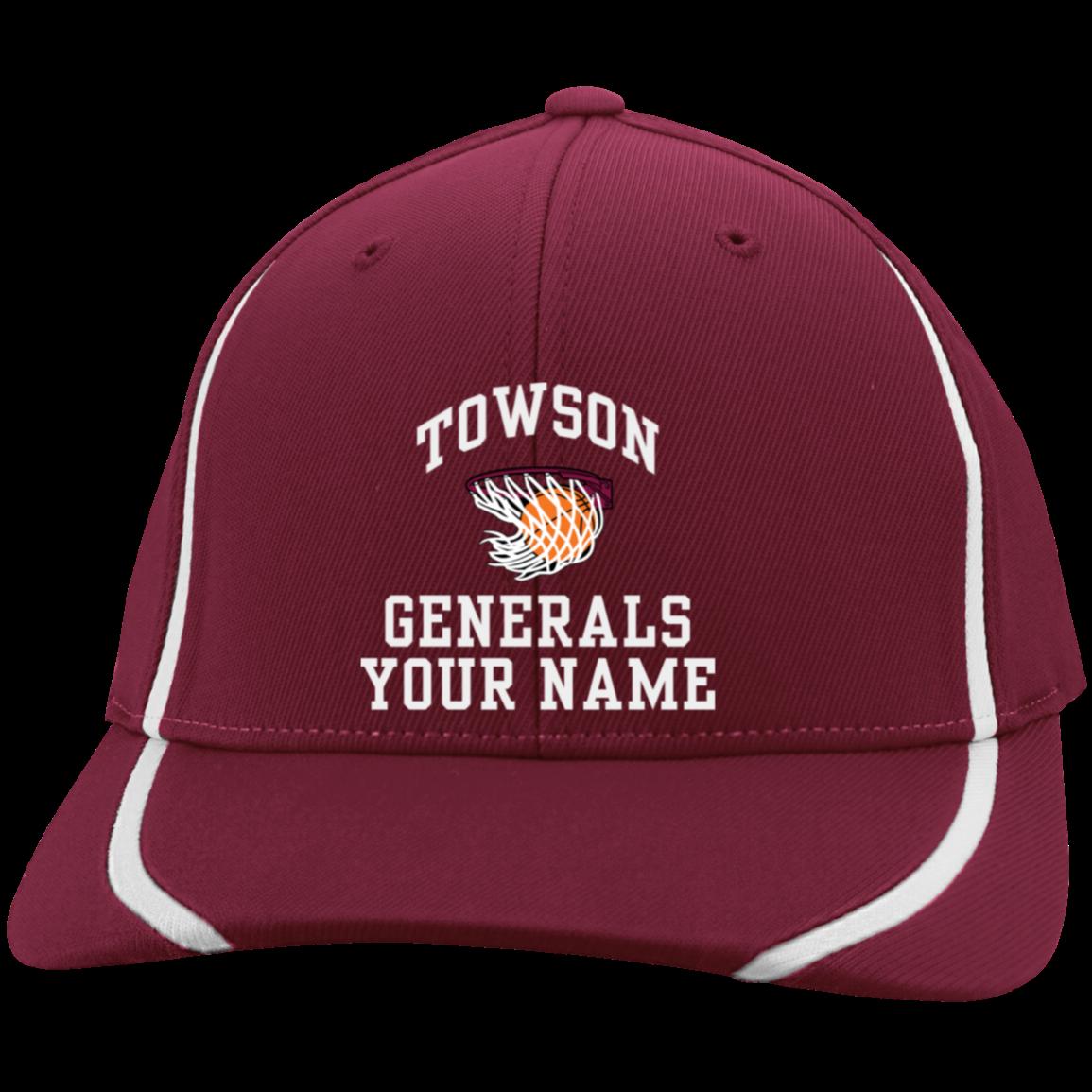 Towson High School Flexfit Colorblock Cap - Jostens School
