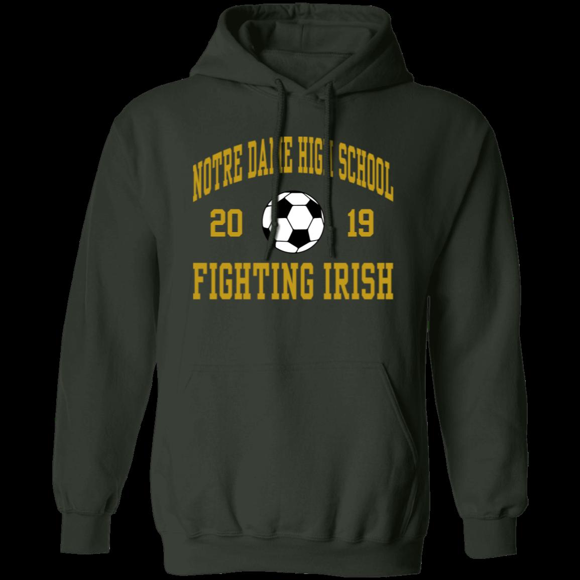 54d5ad1a Notre Dame High School Pullover Hoodie 8 oz - SpiritShop.com