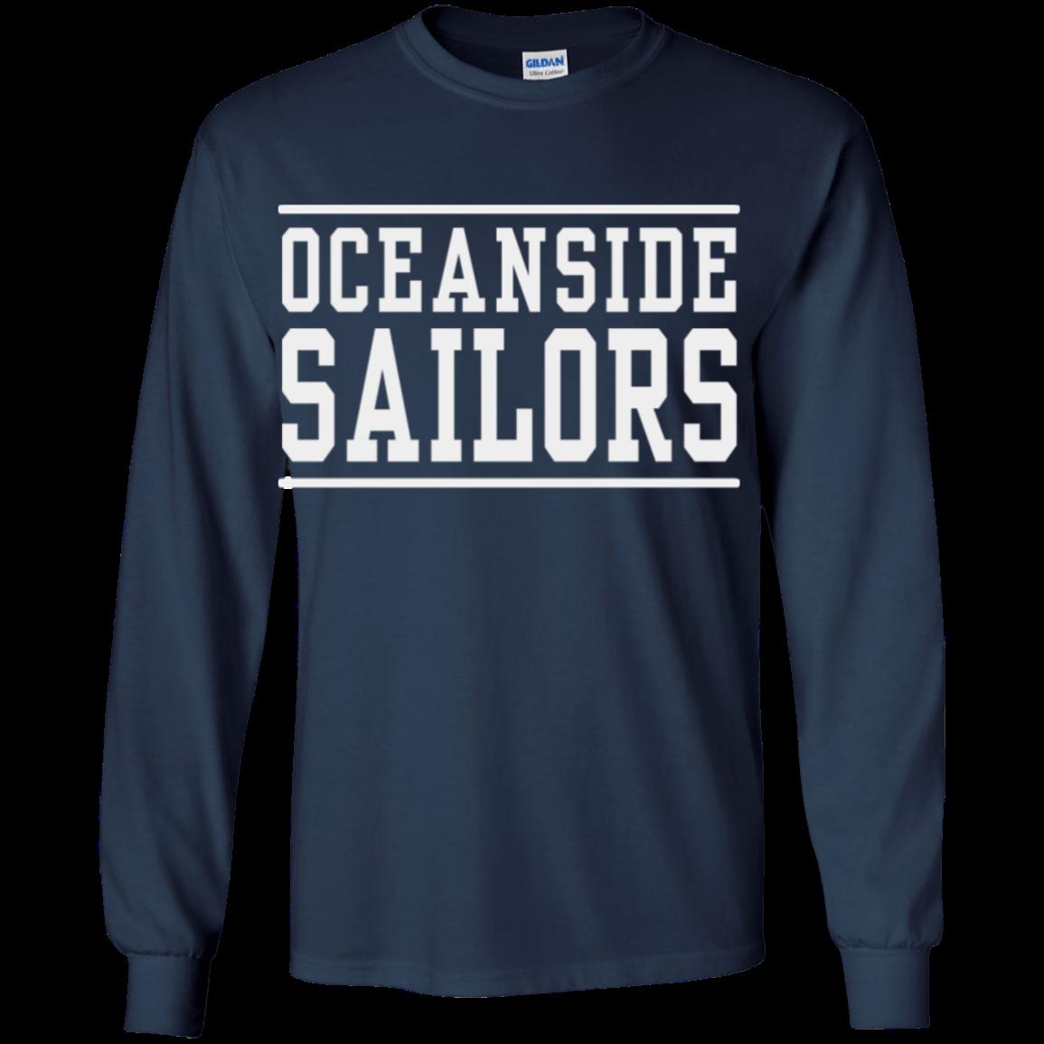 Oceanside High School Youth Long Sleeve Shirt Spiritshopcom