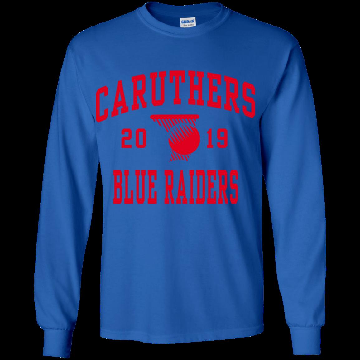 0ff66624 Caruthers High School Youth Long Sleeve Shirt - SpiritShop.com