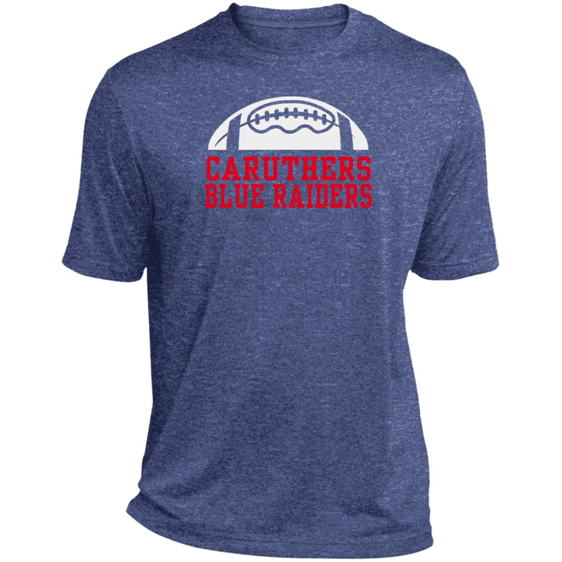8c7589a5 Caruthers High School Heather Dri-Fit Moisture-Wicking Tee for Him -  SpiritShop.com