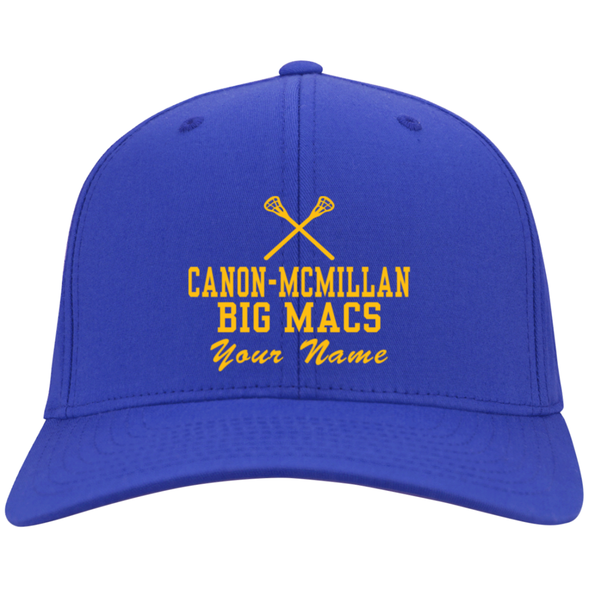 27e75526b Canon-McMillan Senior High School Flex Fit Twill Baseball Cap -  SpiritShop.com
