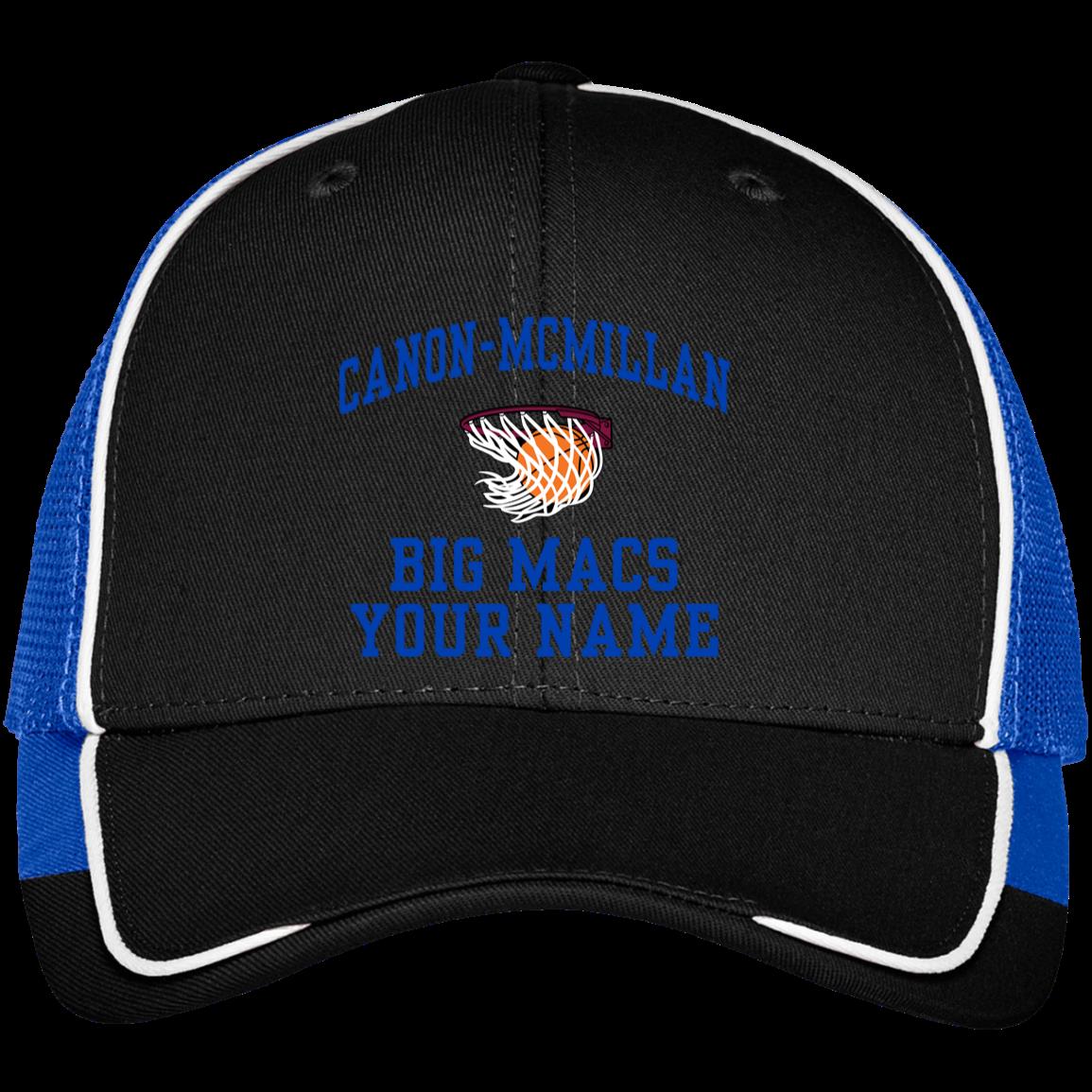4ba92a209 Canon-McMillan Senior High School Colorblock Mesh Back Cap ...
