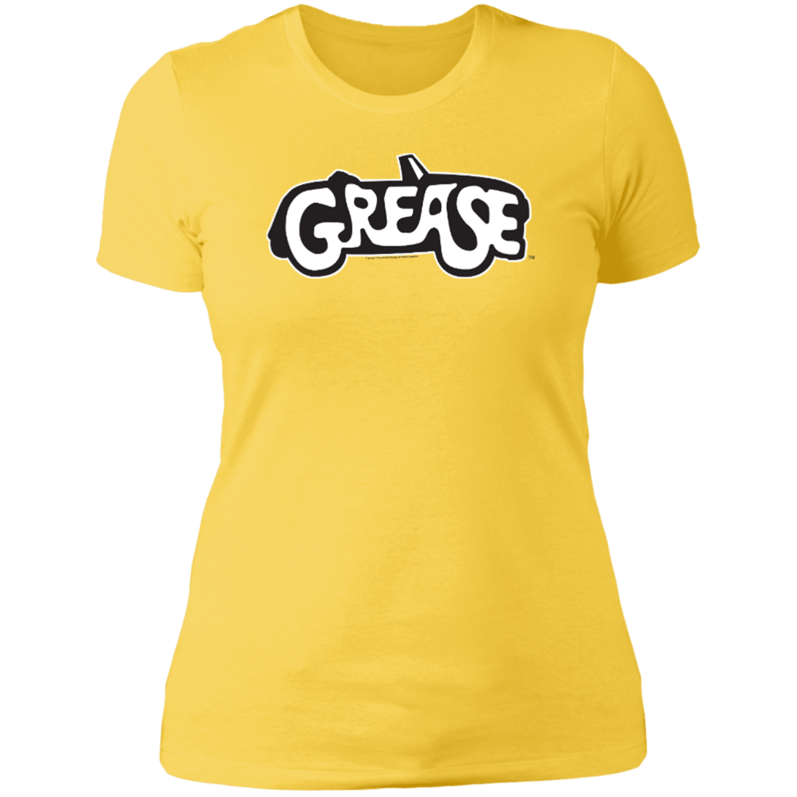 c8c68b9ab9316 Grease Grease - Next Level Women s Boyfriend Tee - Paramount Pictures  Official Apparel Shop.