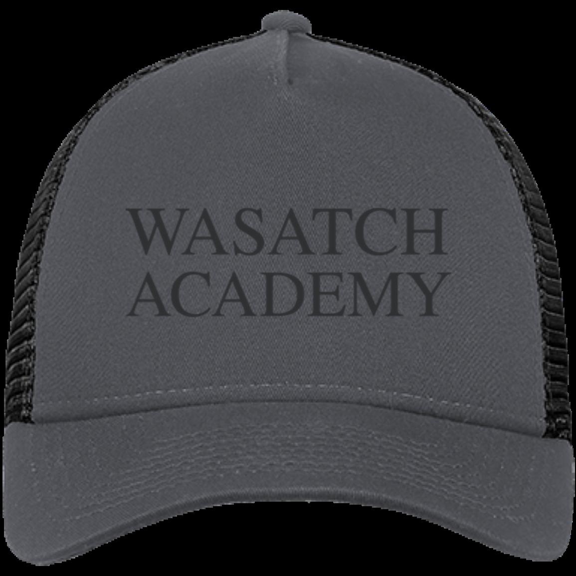 98c916cb21b03 Wasatch Academy New Era Snapback Trucker Cap - SpiritShop.com